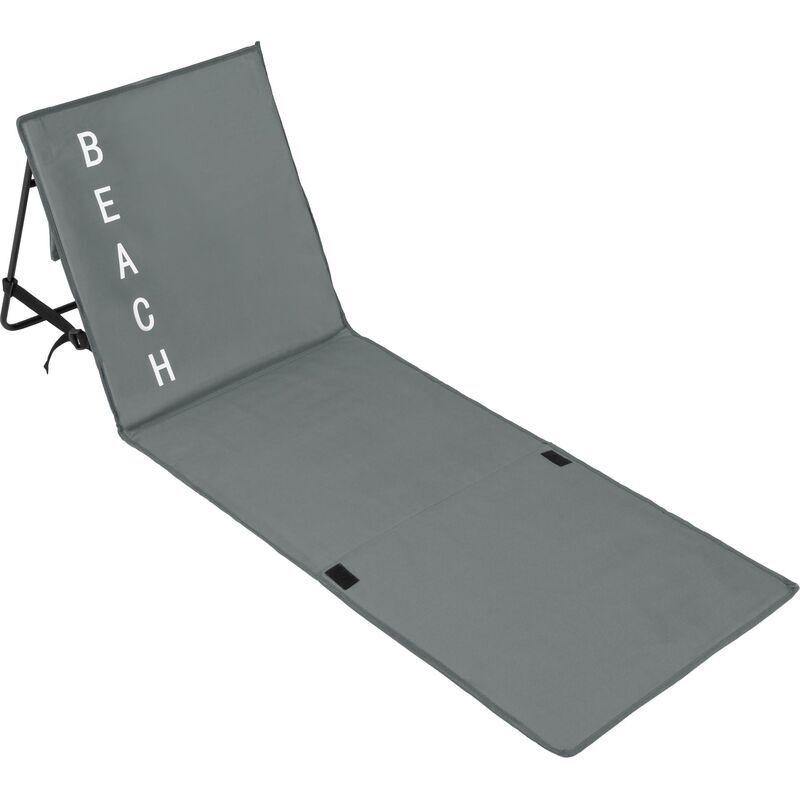 Tectake - Transat de plage - natte de plage, tapis de plage, matelas camping