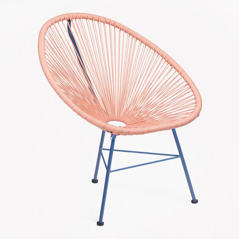 SKLUM Chaise New Acapulco Limited Edition Dahlia - Bleu Klein Polyéthylène
