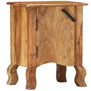 HOMMOO Table de chevet 40 x 30 x 50 cm Bois massif HDV37321 - Hommoo - Publicité