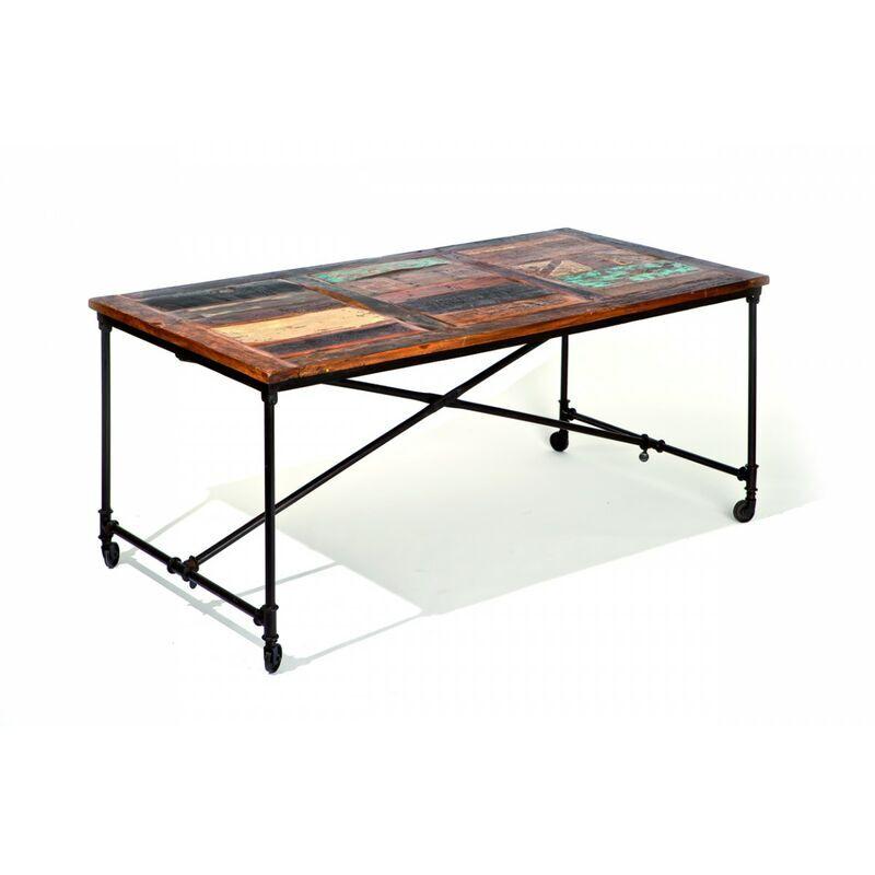 Altobuy - FABRIK - Table sur roulettes