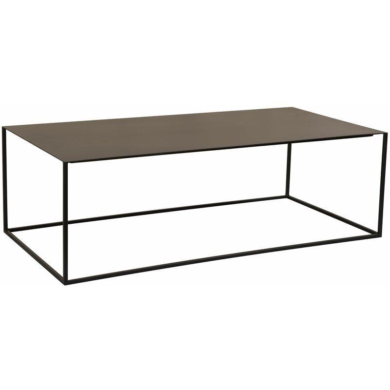 RENDEZ VOUS DéCO Table basse Cola rectangulaire noire - Noir