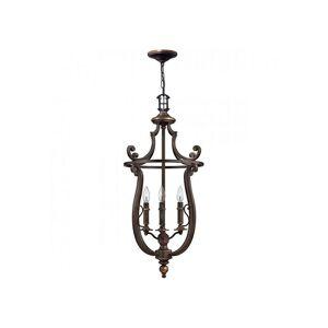 Elstead - Suspension Plymouth, bronze vieilli, 4 ampoules - Publicité