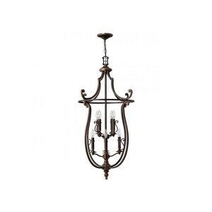 ELSTEAD Suspension Plymouth, bronze vieilli, 8 ampoules - Publicité