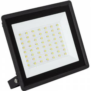 LEDKIA Projecteur LED Solid 50W Blanc Chaud 3000K - Blanco Cálido 3000K - Publicité