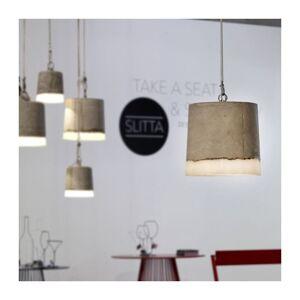 SERAX Suspension lumineuse design Lampe Béton SERAX - Gris - Taille 2 - Intérieur - Publicité