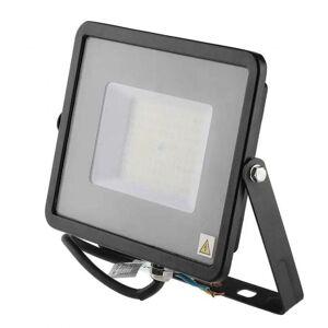 V-TAC PRO VT-56 Projecteur LED 50W slim noir Chip Samsung smd Haute Lumens - Publicité