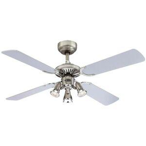 WESTINGHOUSE Ventilateur de plafond avec lampe 'Princess Euro' en bois pour salon & salle à - Publicité