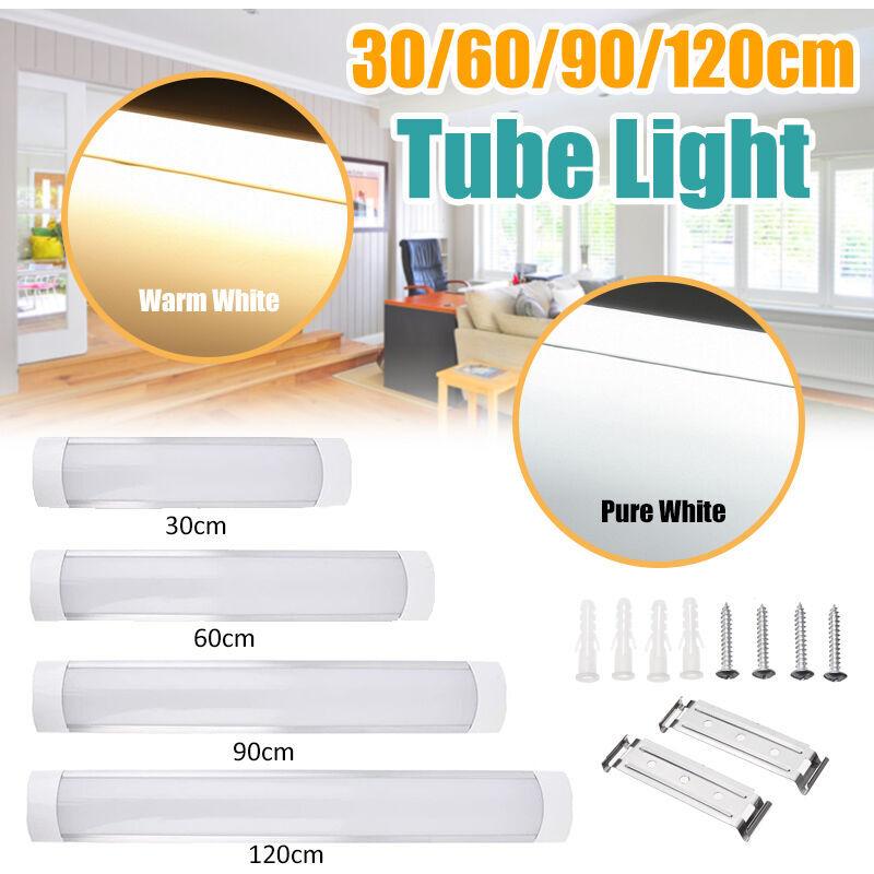MANTA 2 pièces 90 cm 72 LED Batten panneau de plafond linéaire lumière 2835SMD Tube