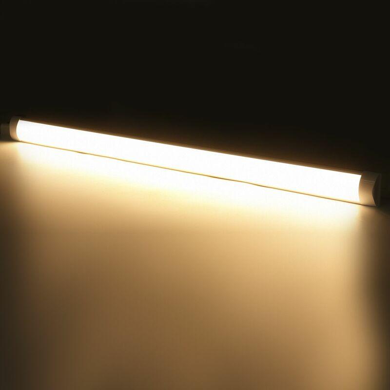 INSMA 2pcs 120cm Tube lumineux 96led en aluminium pour maison bureau 220V