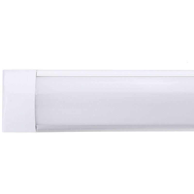Insma - 90cm Tube lumineux 72led en aluminium pour maison bureau 220Vblanc chaud