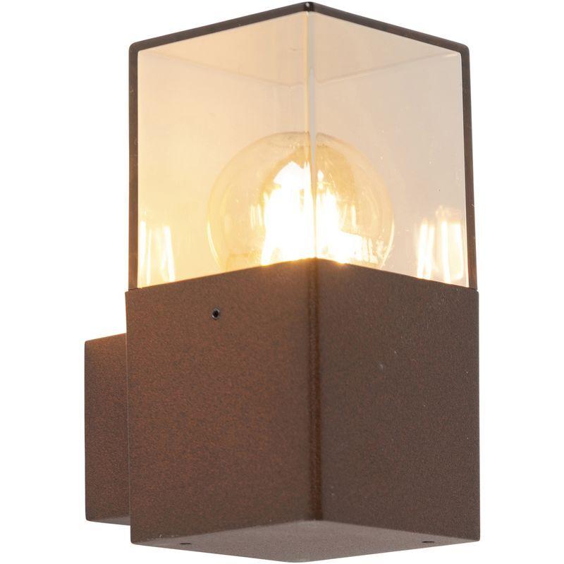 QAZQA Applique extérieure industrielle brun rouille IP44 - Danemark Qazqa Moderne