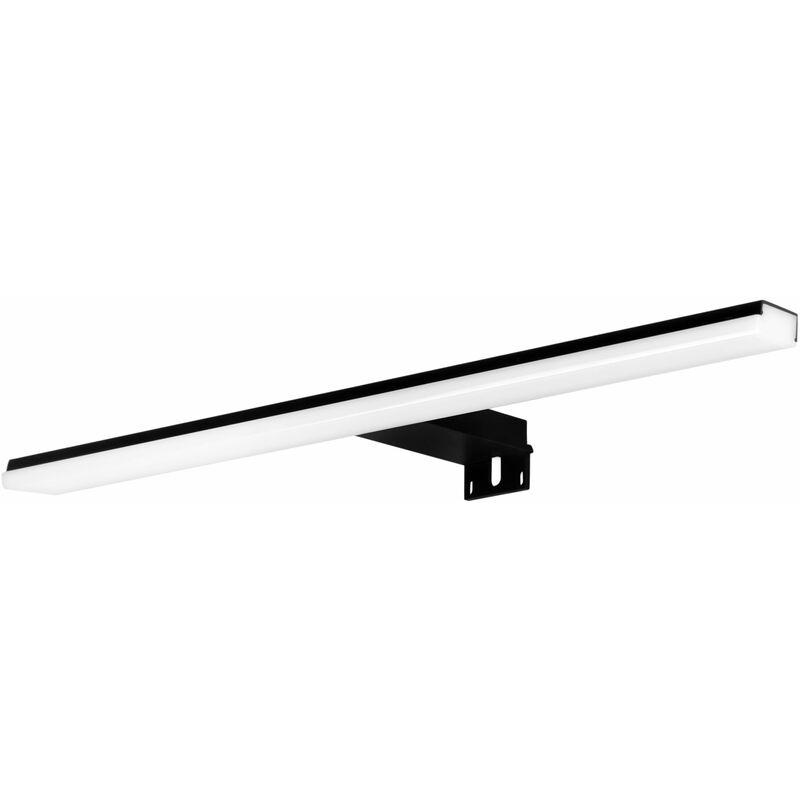 ALLIBERT Applique LED miroir salle de bain BLITZ 10 W noir mat - Allibert