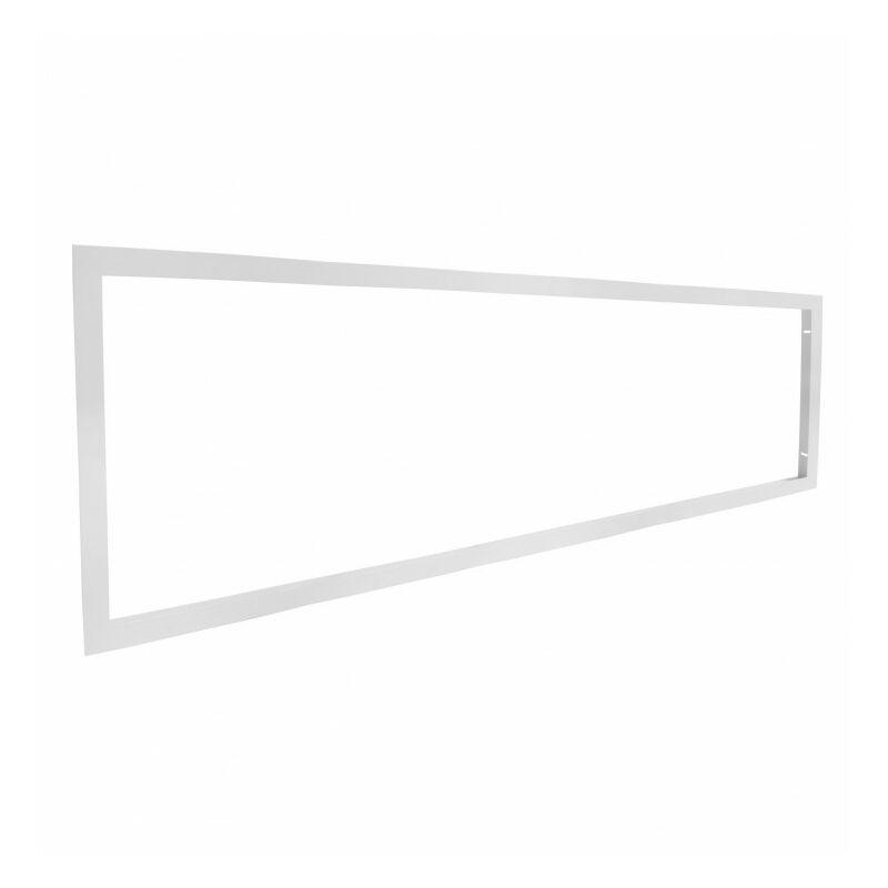 Delitech - Cadre d'encastrement - Dalle LED 120x30 - Faux plafond placo BA13