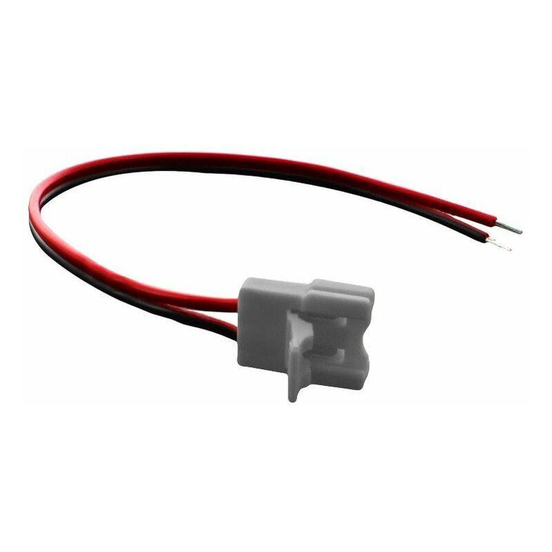 BYLED® Connecteur ruban LED Mono 10 mm câble 13 cm + click   Connectique pour ruban