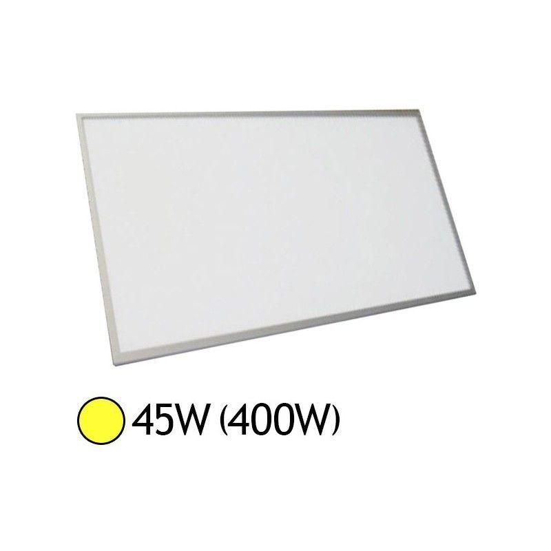 VISION-EL Dalle LED 45W (400W) Alu 300x1200 Blanc chaud