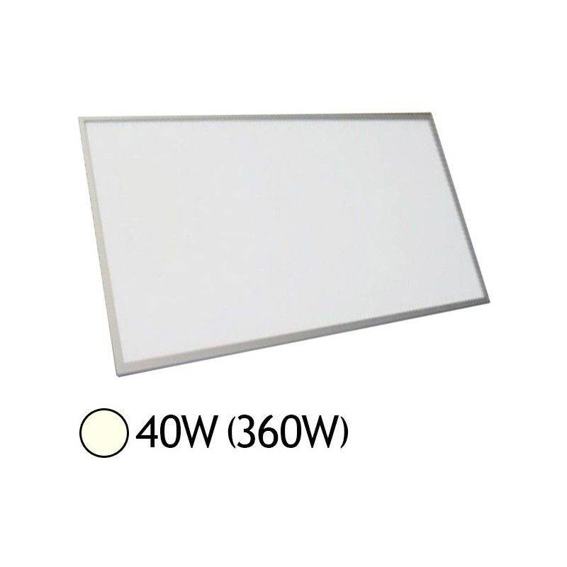 VISION-EL Dalle LED 40W (360W) Alu 300x1200 Blanc jour 4000°K