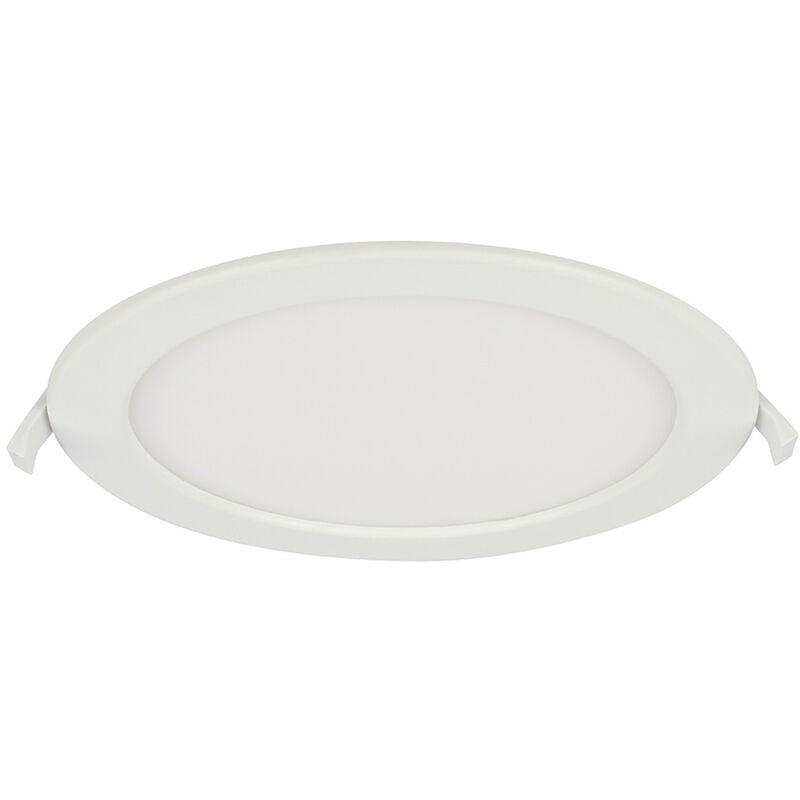 Globo - Spot encastrable LED plafonnier lampe ronde ALU éclairage salle de bain