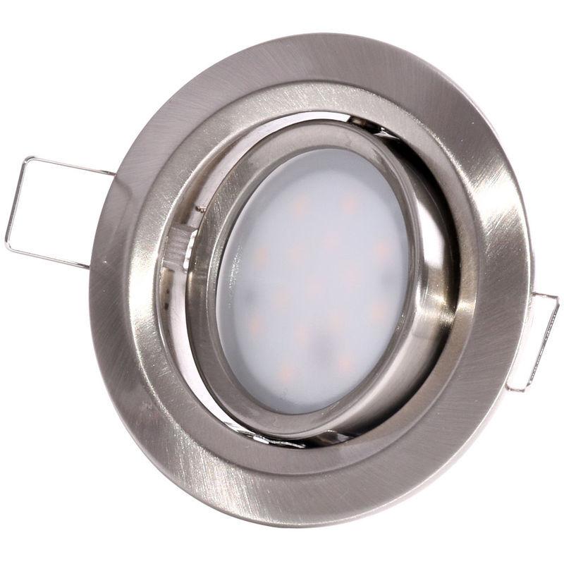 PAULMANN Plafonnier encastré à LED Salle de bain Planchers d'éclairage Lampe spot mobile