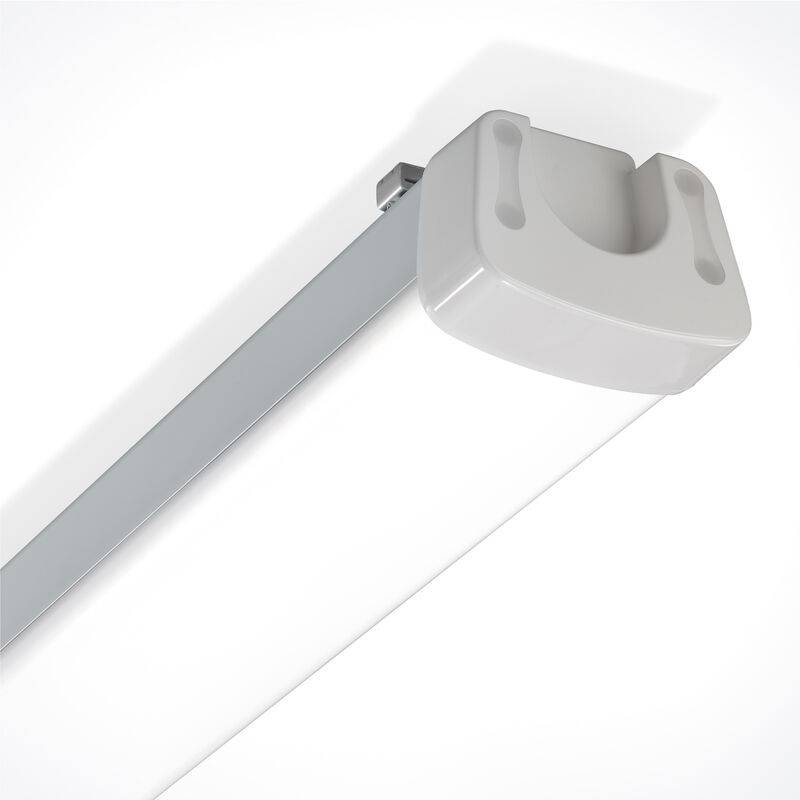 ESOTEC Lampe LED pour pièce humide et atelier 60 watts IP65 longueur 120cm 5500K