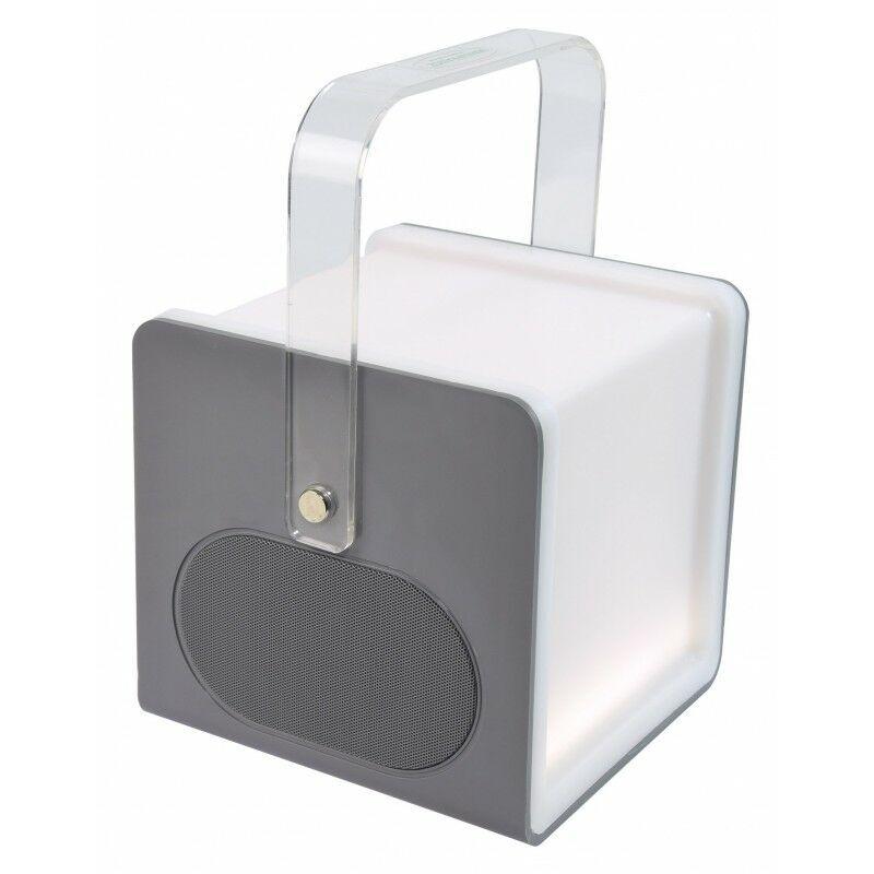 MANU FRANCE®  DU MONDE Lampe LED sensitive - Enceinte Nomad Bluetooth - fonction Power Bank USB 136 mm