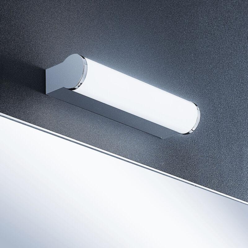 LINDBY LED Applique Murale 'Baska' en métal pour salle de bain