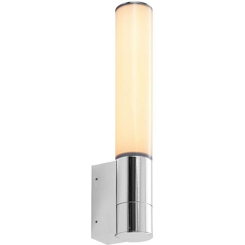Lindby - LED Applique Murale 'Stikka' en métal pour salle de bain
