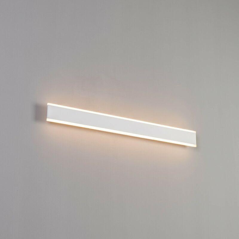 KOSILUM Longue applique LED compatible variateur 80 cm - Bastia - Blanc