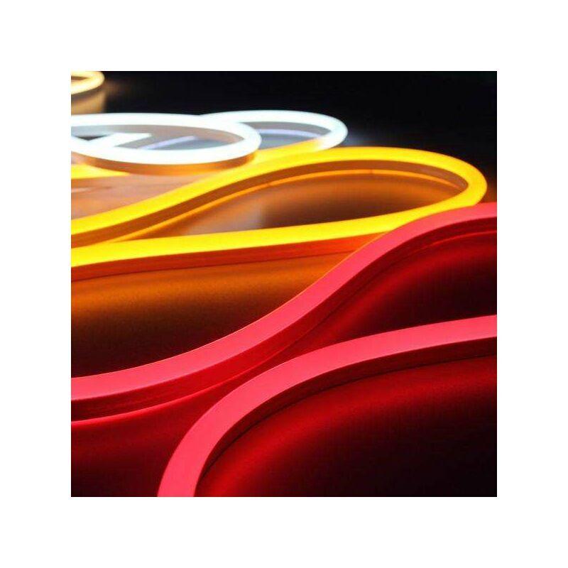 LECLUBLED Néon LED Flexible lumineux   Jaune - 50m