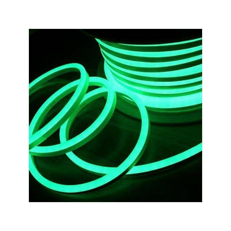 Leclubled - Néon LED Flexible lumineux   Vert - 50m