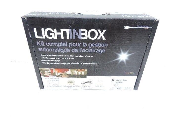 TRAJECTOIRE Pack de gestion d'éclairage pour 2 pièces système tout-ou-rien (TOR) pour