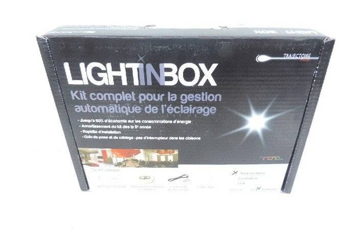 TRAJECTOIRE Pack de gestion d'éclairage pour 4 pièces système tout-ou-rien (TOR) pour