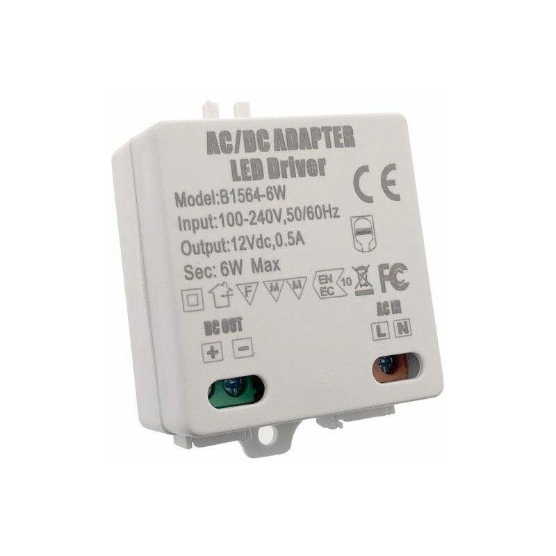 BARCELONA LED Transformateur 12V DC 0.25A 6W 100-240V