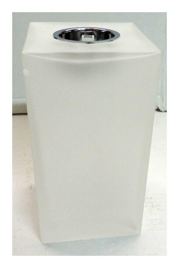 TARGETTI Plafonnier applique en verre mat blanc 170X90X90mm pour lampe E27 230V 75W max