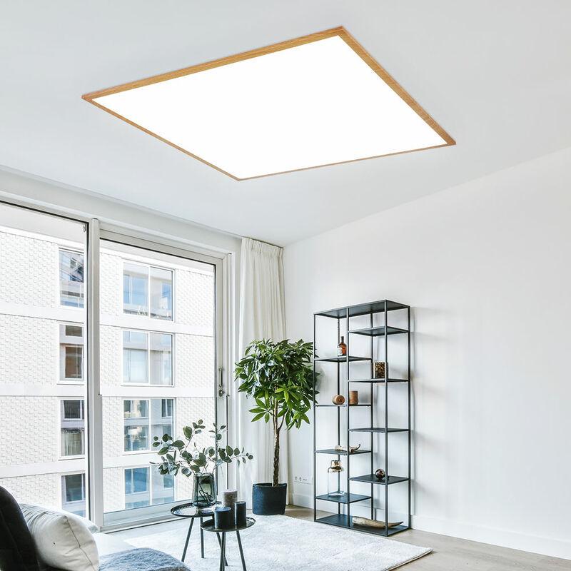 GLOBO Panneau LED, 2250 lumens, blanc chaud, L 59 cm, DORO