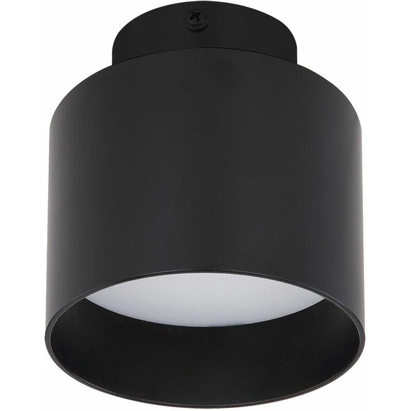 Globo - Plafonnier LED ALU noir 3 marches UP & DOWN lampe d'éclairage de salon