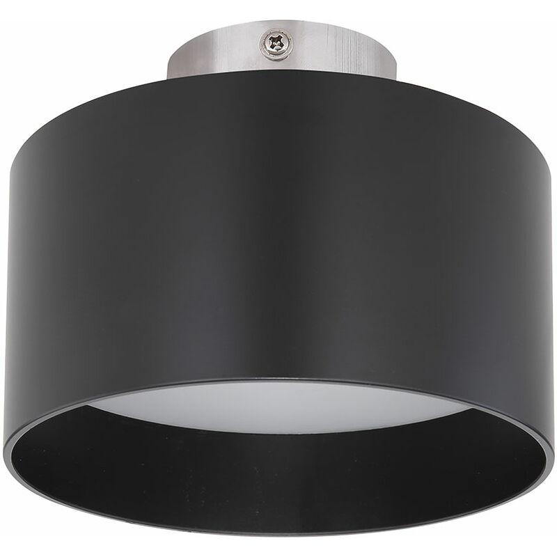 Globo - Plafonnier LED ALU noir 3 marches UP & DOWN éclairage salon