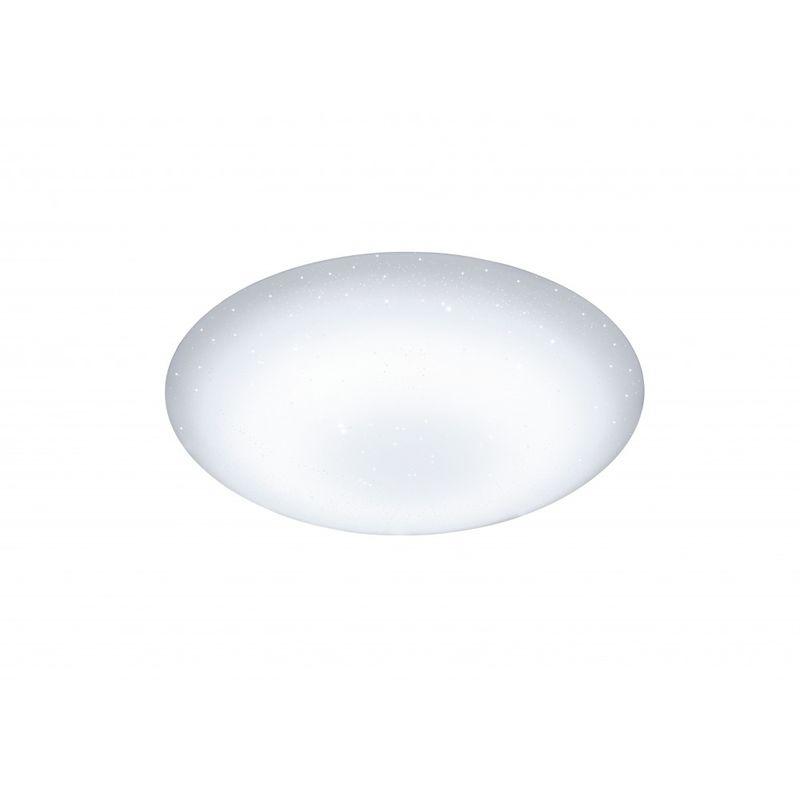 WOFI Plafonnier LED avec télécommande et variateur CERES