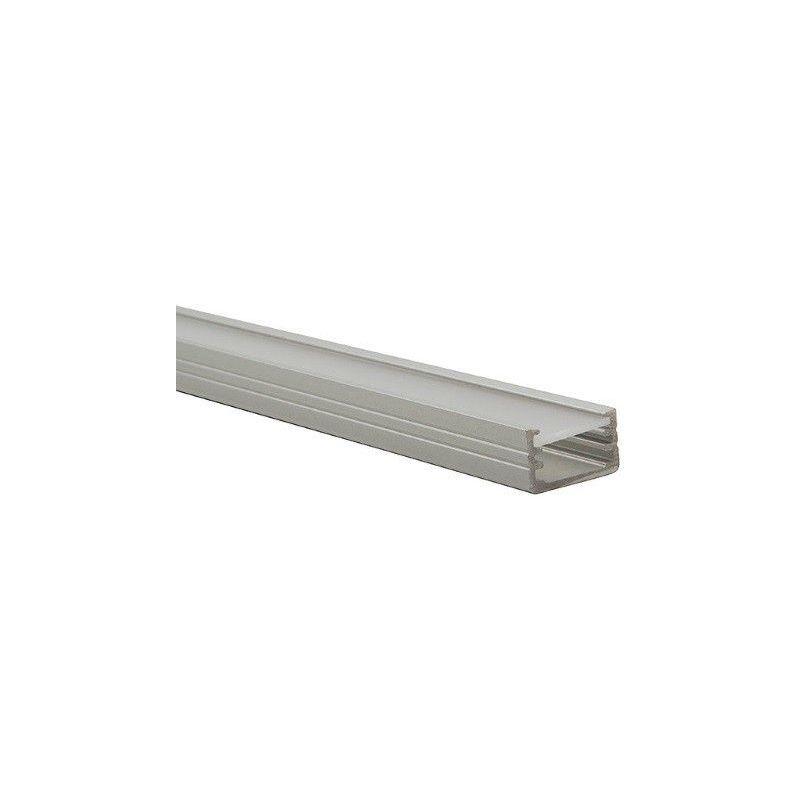 KANLUX Profilé Aluminium PROFILO-B pour bande led 8mm ou 10mm - longueur 1 mètre