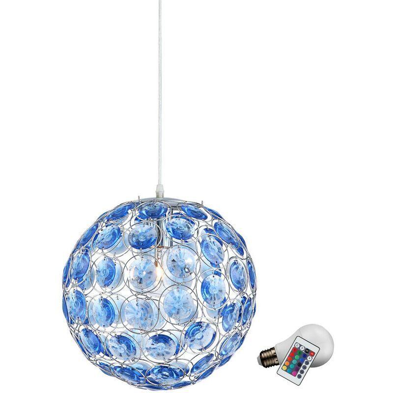 ETC-SHOP Lampe de logement suspension pendulaire réglable dans le jeu inclus source