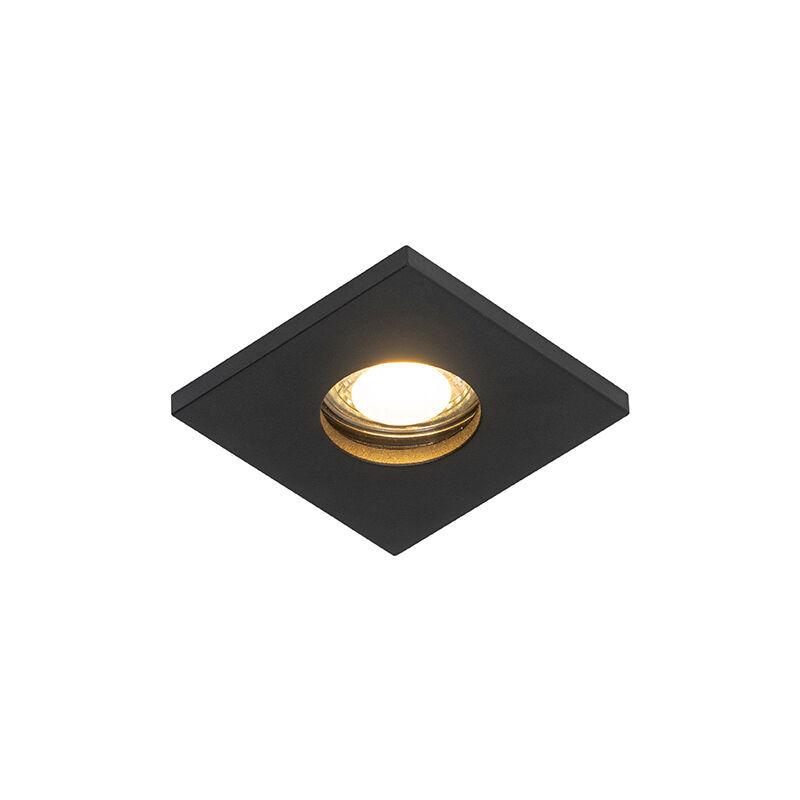 QAZQA Spot encastrable de salle de bain Moderne noir - Doku Qazqa Moderne IP54