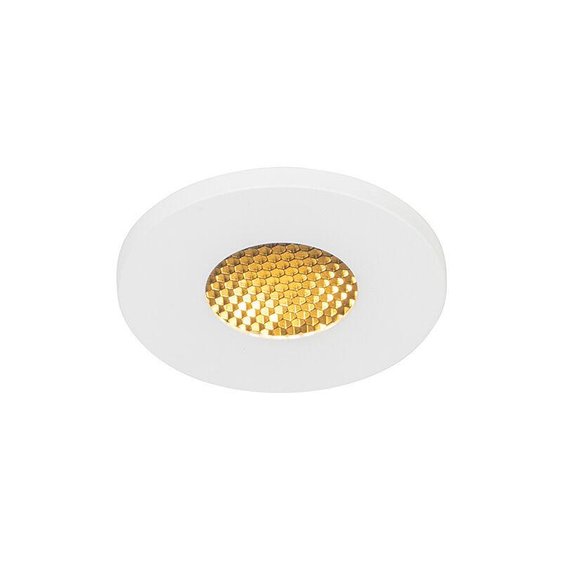 QAZQA Spot encastrable pour salle de bain Moderne blanc IP54 - Shed Honey Moderne