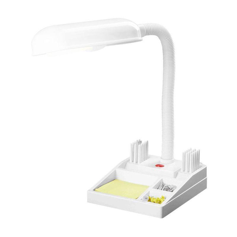 GLOBO Lampe de table luminaire blanc éclairage bureau cabinet travail chambre dépôt