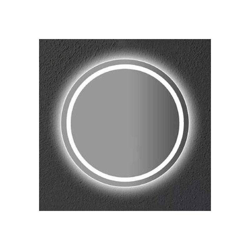 V-TAC VT-8602 Miroir LED 27W Anti-buée touch ON/OFF switch & color change 3in1 salle