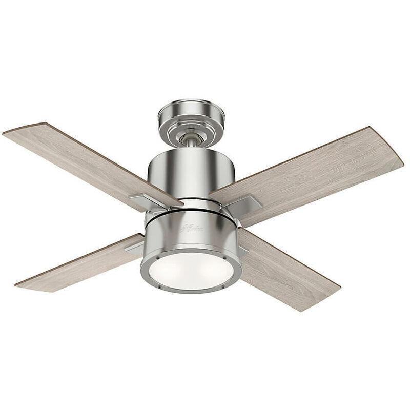 HUNTER FANS Ventilateur de plafond Beck 107 cm avec éclairage