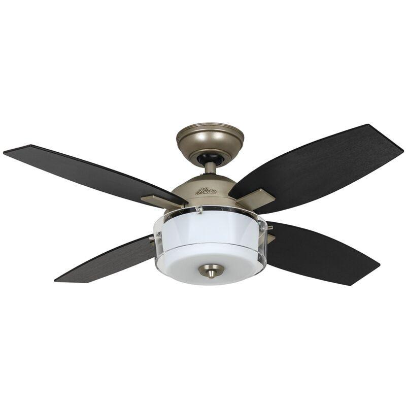 Hunter Fans - Ventilateur de plafond Central Park Etain 107 cm