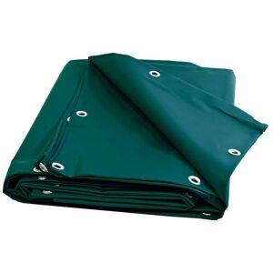 Tecplast - Bâche serre PVC 900 g/m² - 8 x 12 m - Verte - bache imperméable - Publicité