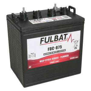 FULBAT BATTERIE DEEP CYCLE FLOODED FDC-875 8V 170AH - Fulbat - Publicité