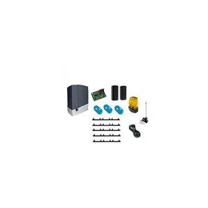 CAME Kit Automatisme de portail coulissant BXL400 + 5m cremaillere + 1 Top432EE - Publicité