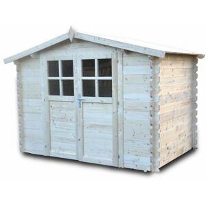CHALET & JARDIN Chalet&jardin; - Abri de jardin en bois 6m2 - 28 mm 'Azur' - Publicité