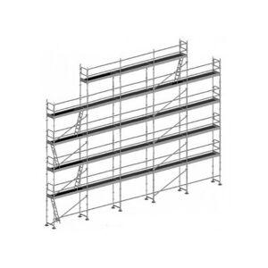 ECHAFAUDAGE DIRECT - MATISERE Echafaudage Direct-matisere - Echafaudage fixe de 180m² - Structure + Planchers - Publicité